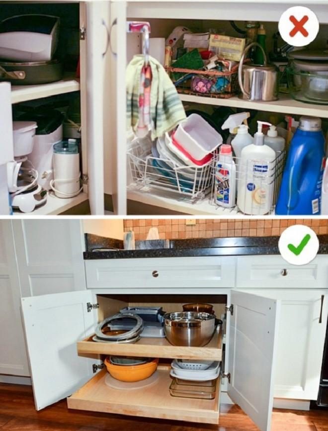 12 sai lầm nghiêm trọng trong thiết kế nhà bếp và các cách đơn giản để giải quyết nó ngay tức thì - Ảnh 2.