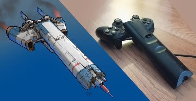 Phục sát đất người họa sĩ biến đồ gia dụng thành những con tàu vũ trụ tuyệt đẹp - Ảnh 1.