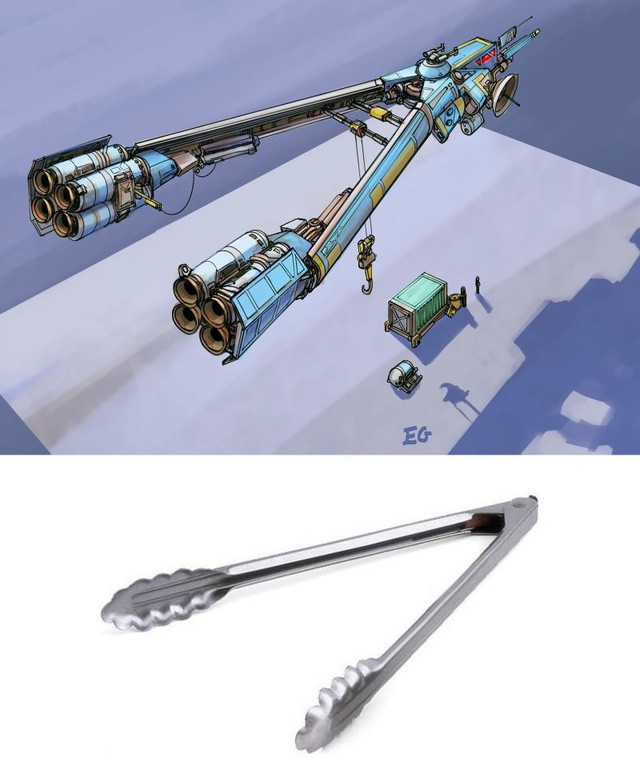 Phục sát đất người họa sĩ biến đồ gia dụng thành những con tàu vũ trụ tuyệt đẹp - Ảnh 2.