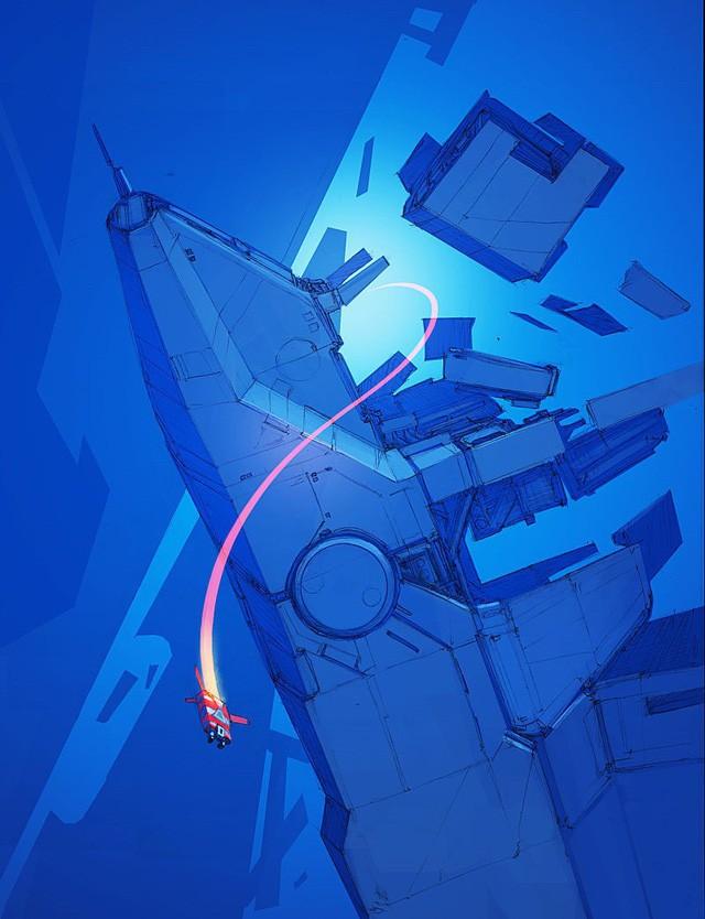 Phục sát đất người họa sĩ biến đồ gia dụng thành những con tàu vũ trụ tuyệt đẹp - Ảnh 12.