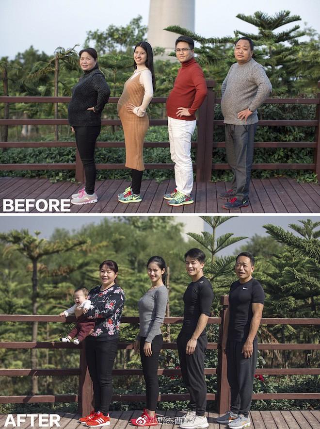 Từ bụng bia hóa cơ bắp, hành trình giảm cân 6 tháng của gia đình này khiến ai nấy đều ngưỡng mộ - Ảnh 3.