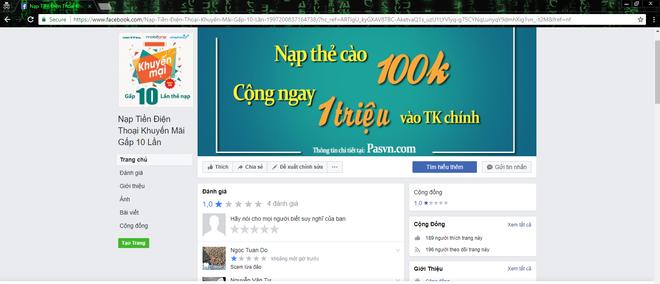 Cảnh báo website giả mạo nạp thẻ cào nhân mười lần giá trị tại Việt Nam - Ảnh 3.
