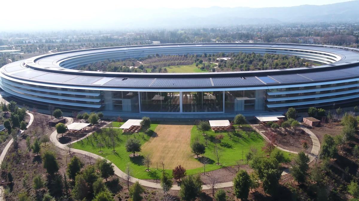 Apple vừa hoàn thành xong trụ sở mới cực hoành tráng, trông như đĩa bay ngoài hành tinh - Ảnh 2.