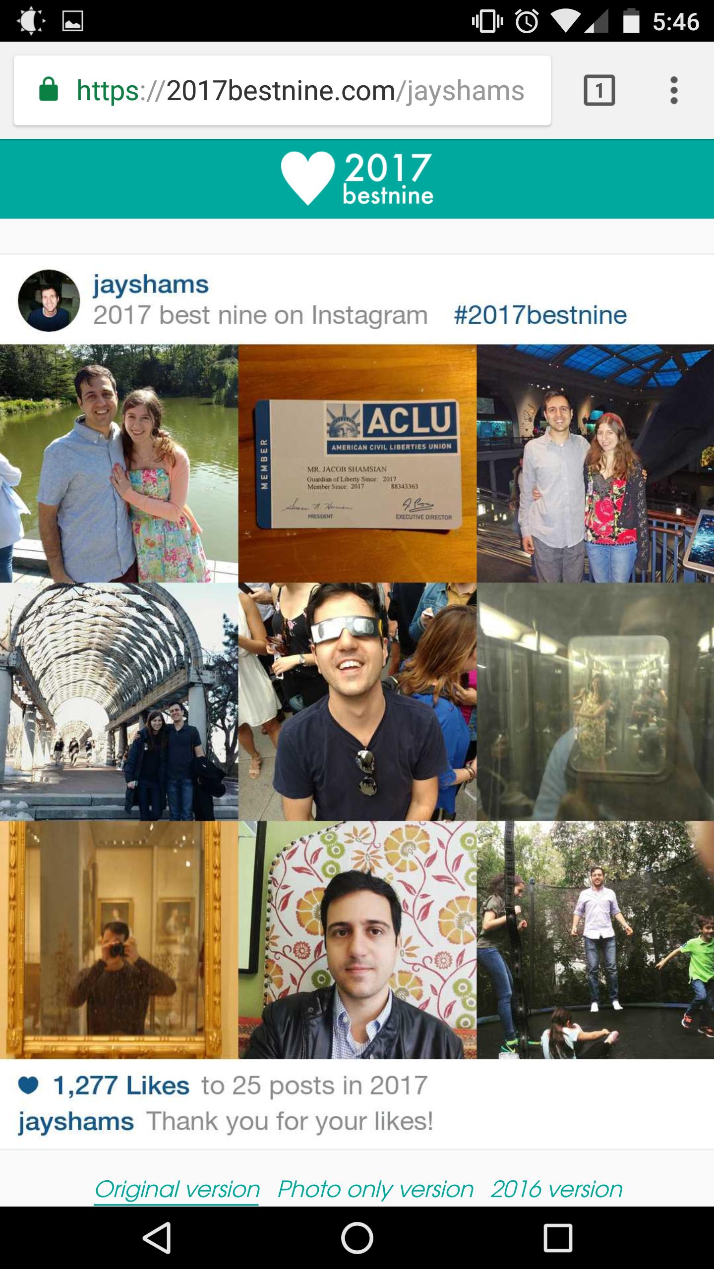 Làm thế nào để tìm ra 9 bức ảnh nhiều Like nhất năm 2017 của mình trên Instagram? - Ảnh 3.