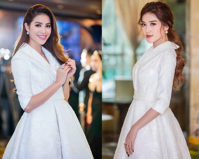Khi hai Bông hậu cùng diện một thiết kế váy, thì Midu đụng hàng liệu còn có cửa cạnh tranh? - Ảnh 4.