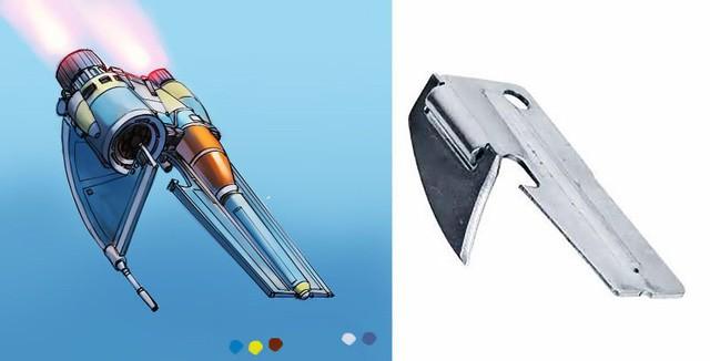 Phục sát đất người họa sĩ biến đồ gia dụng thành những con tàu vũ trụ tuyệt đẹp - Ảnh 4.