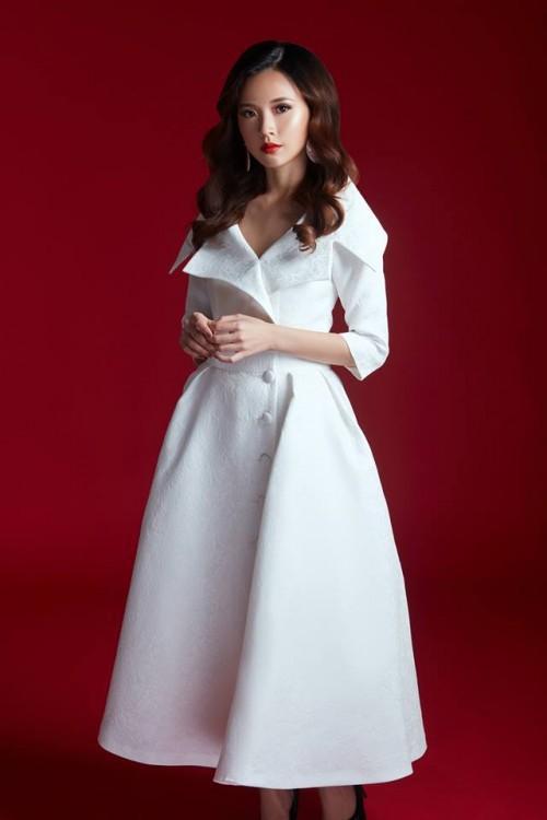 Khi hai Bông hậu cùng diện một thiết kế váy, thì Midu đụng hàng liệu còn có cửa cạnh tranh? - Ảnh 5.