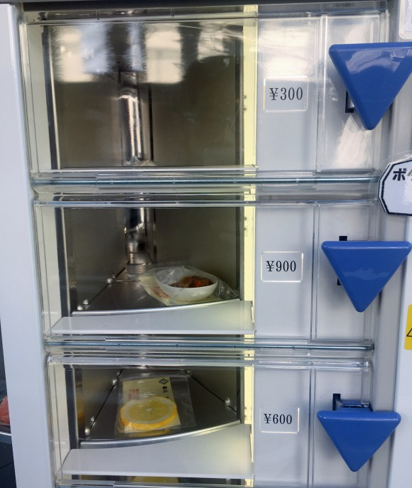 Nhật Bản có cả máy bán mô hình đồ ăn giả tự động, trông ứa nước miếng vì tưởng thức ăn thật - Ảnh 5.