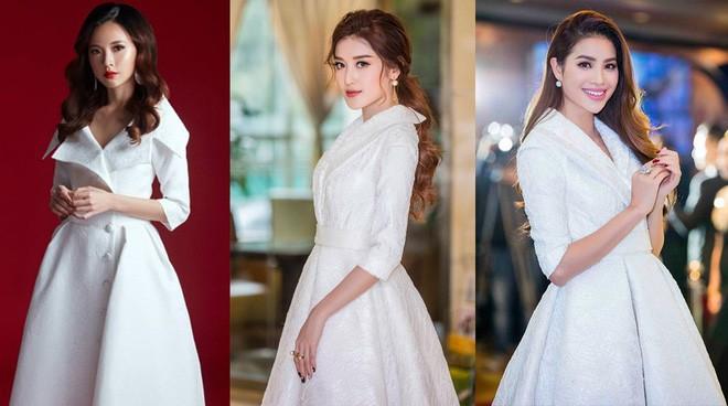 Khi hai Bông hậu cùng diện một thiết kế váy, thì Midu đụng hàng liệu còn có cửa cạnh tranh? - Ảnh 6.