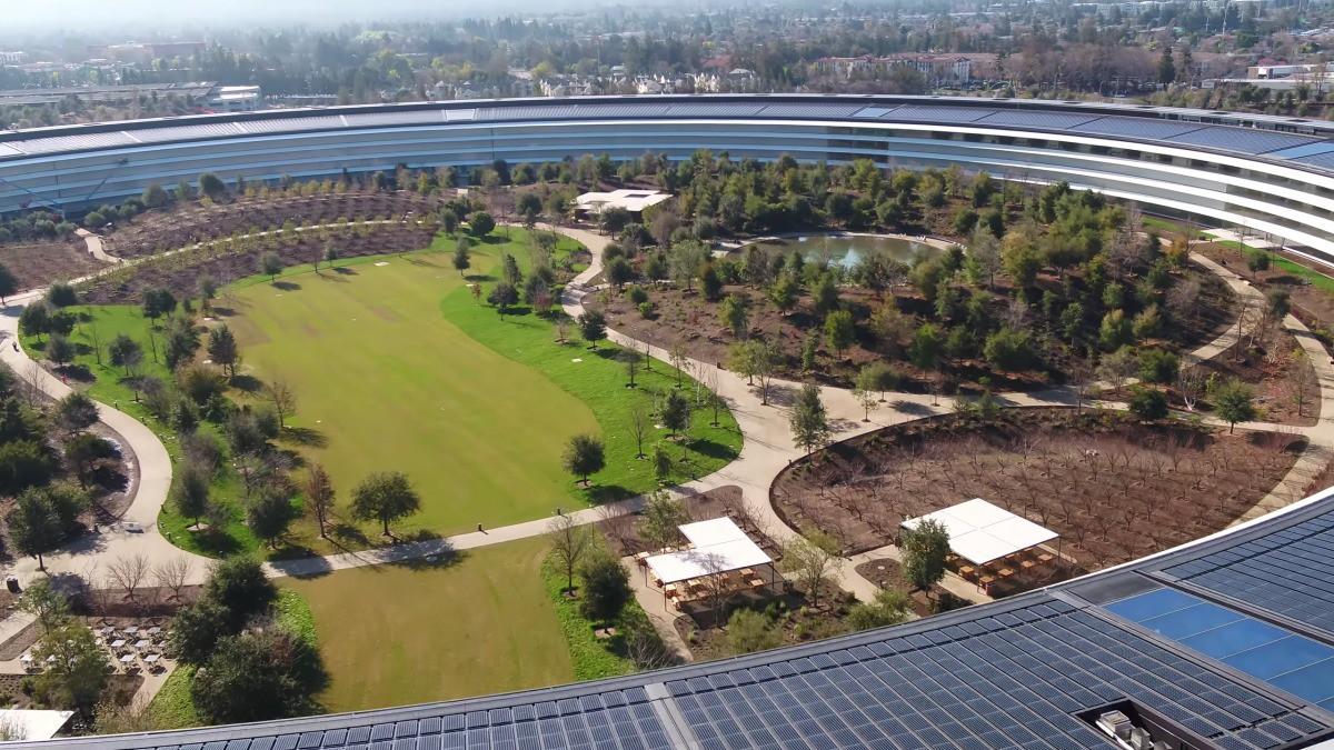 Apple vừa hoàn thành xong trụ sở mới cực hoành tráng, trông như đĩa bay ngoài hành tinh - Ảnh 5.