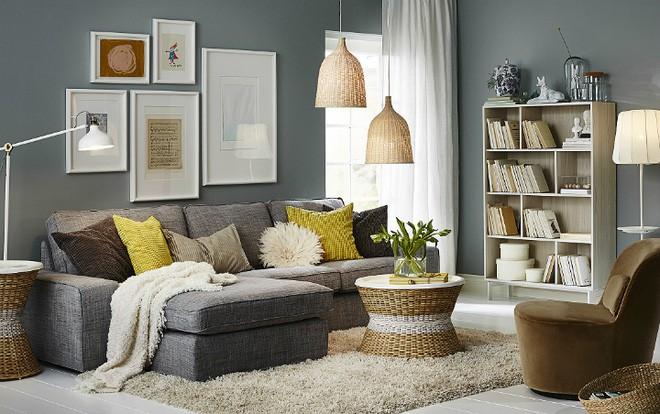 Đây là những phòng khách đẹp như trong mơ mà bạn có thể thiết kế khi có chi phí eo hẹp - Ảnh 7.