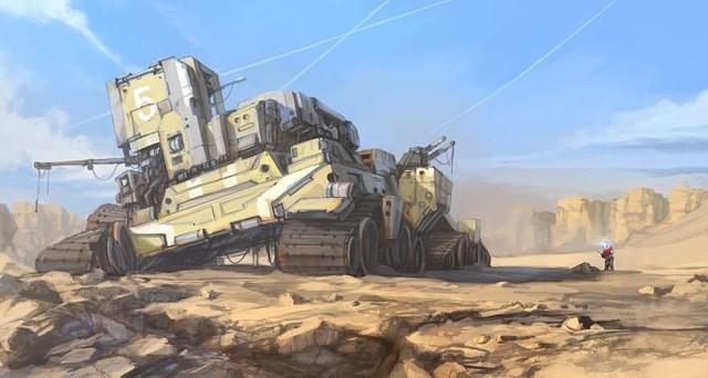 Phục sát đất người họa sĩ biến đồ gia dụng thành những con tàu vũ trụ tuyệt đẹp - Ảnh 8.