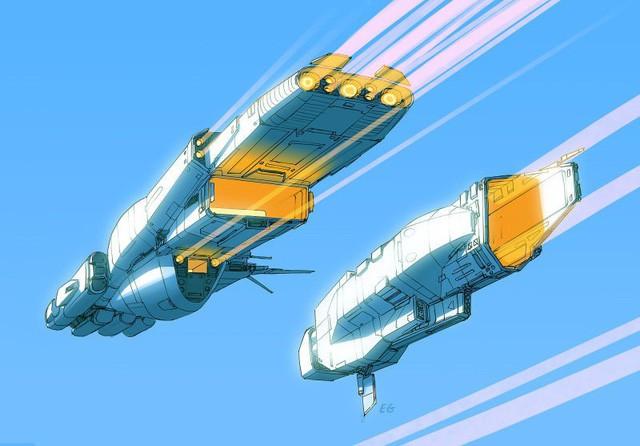 Phục sát đất người họa sĩ biến đồ gia dụng thành những con tàu vũ trụ tuyệt đẹp - Ảnh 10.