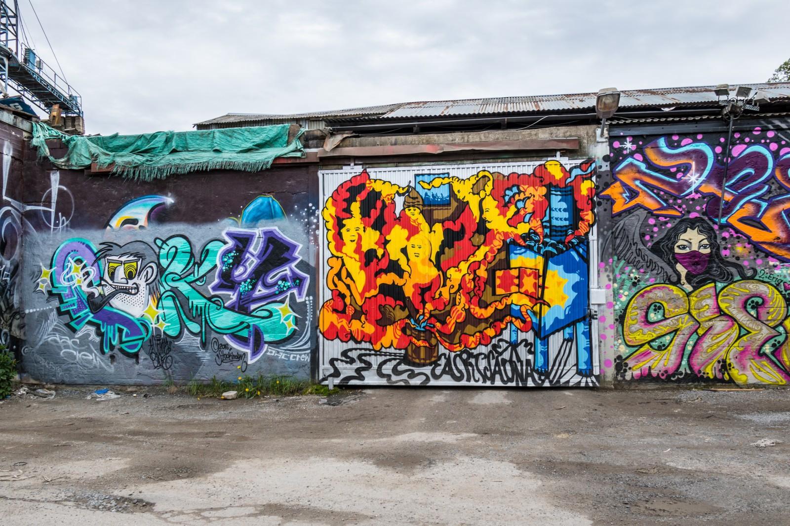 Kết quả hình ảnh cho graffiti - nghệ thuật đường phố của TP. New York