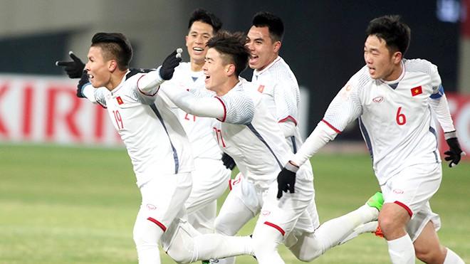 U23 Việt Nam và sắc màu tích cực - Ảnh 1.