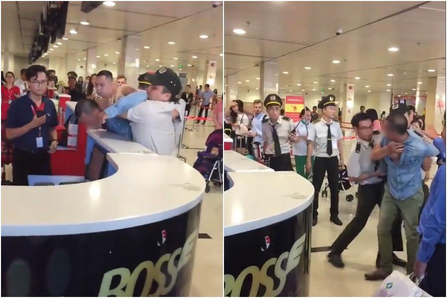 Clip khách nam quát mắng, xông vào nữ nhân viên ở sân bay vì cho rằng bị bắt xếp hàng nên check-in muộn, Vietjet nói gì? - Ảnh 2.