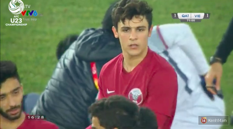 Hotboy của U23 Qatar: Cứ lên hình là chị em lại phải ôm tim vì quá đẹp - Ảnh 3.