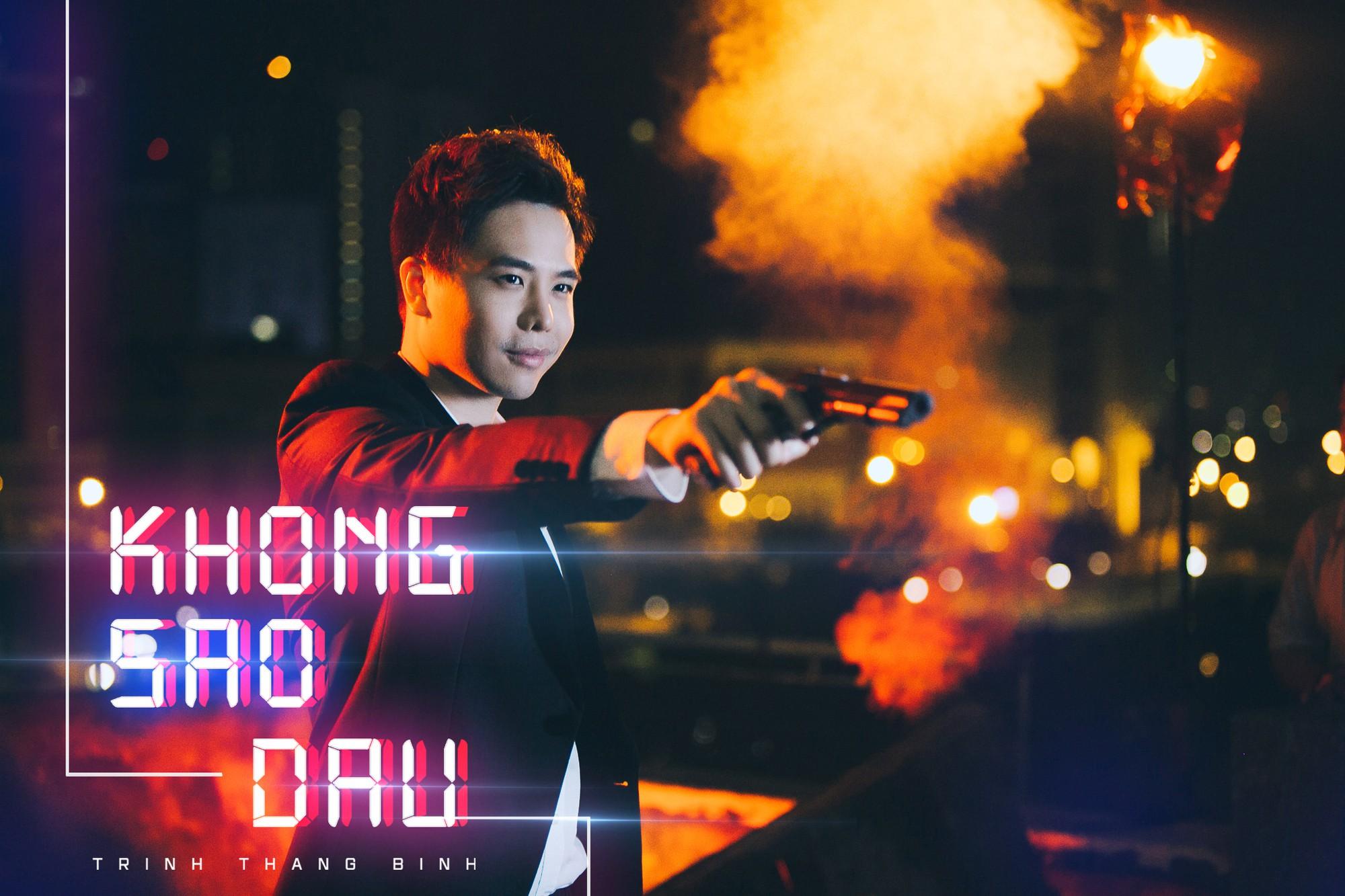 Trịnh Thăng Bình lột xác làm hacker chất ngầu, hé lộ cảnh bị bắn đầy bí ẩn trong teaser MV mới - Ảnh 2.