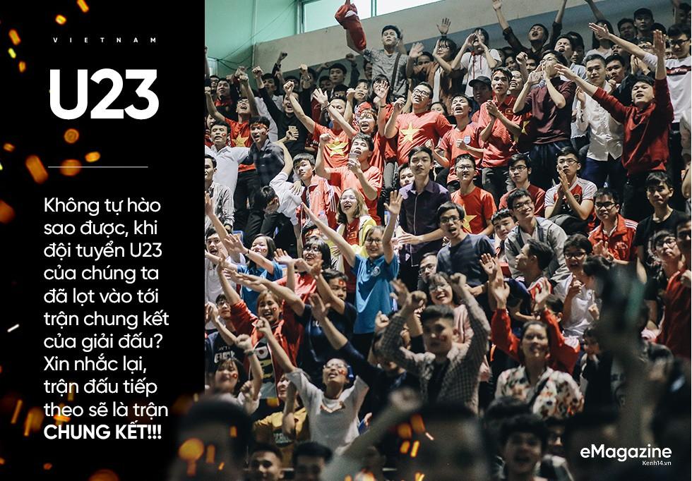 10 năm rồi, cái cảm giác rực lửa tự hào, rực cờ hoa chiến thắng bóng đá mới được tái hiện lại bởi U23... - Ảnh 1.
