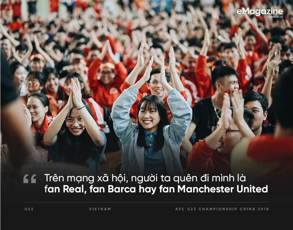10 năm rồi, cái cảm giác rực lửa tự hào, rực cờ hoa chiến thắng bóng đá mới được tái hiện lại bởi U23... - Ảnh 13.