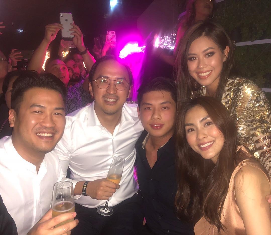Tiệc chào năm mới của Rich Kid Việt: Dẫn đầu về độ sang chảnh vẫn là hội em chồng Hà Tăng! - Ảnh 1.