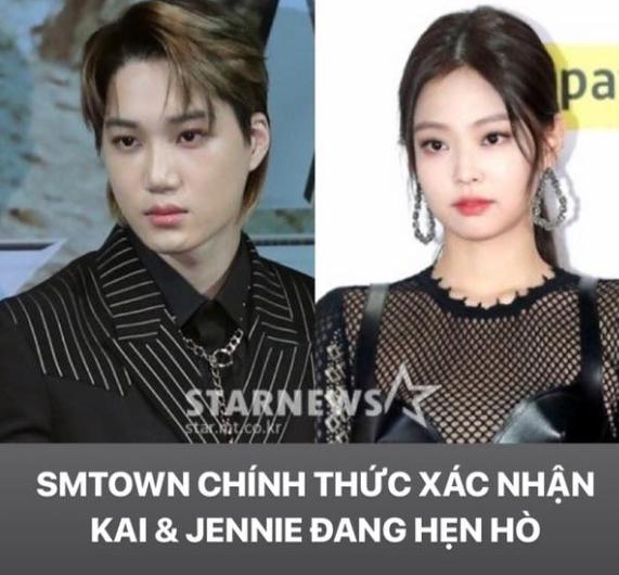 YG ngáo ngơ không biết gì, SM chính thức xác nhận tin hẹn hò của Kai và Jennie, Dispatch chơi lầy thay avatar là hình Kai - Ảnh 1.