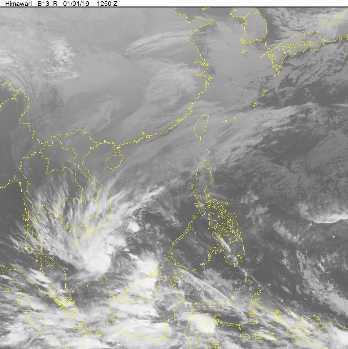 Tin bão gần bờ: Áp thấp nhiệt đới mạnh lên thành bão số 1, còn cách đất liền khoảng 500 km - Ảnh 2.