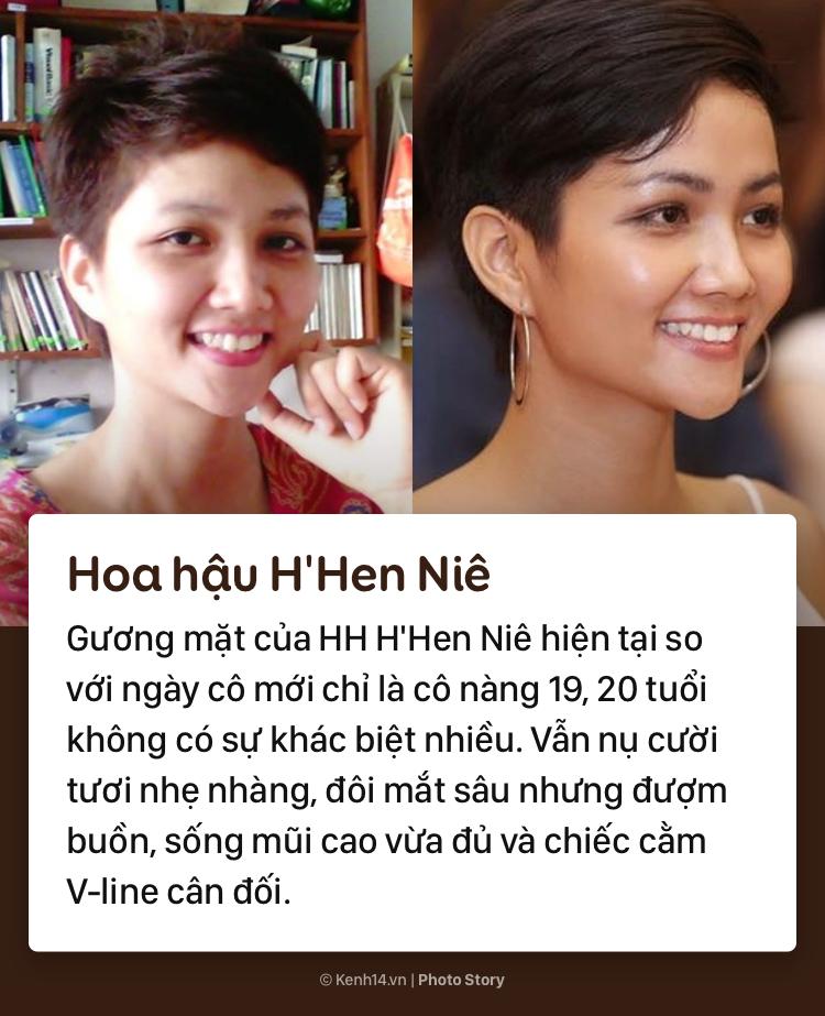 Mặt mộc khác biệt trước đây - bây giờ của các nàng hậu đình đám Việt Nam - Ảnh 3.