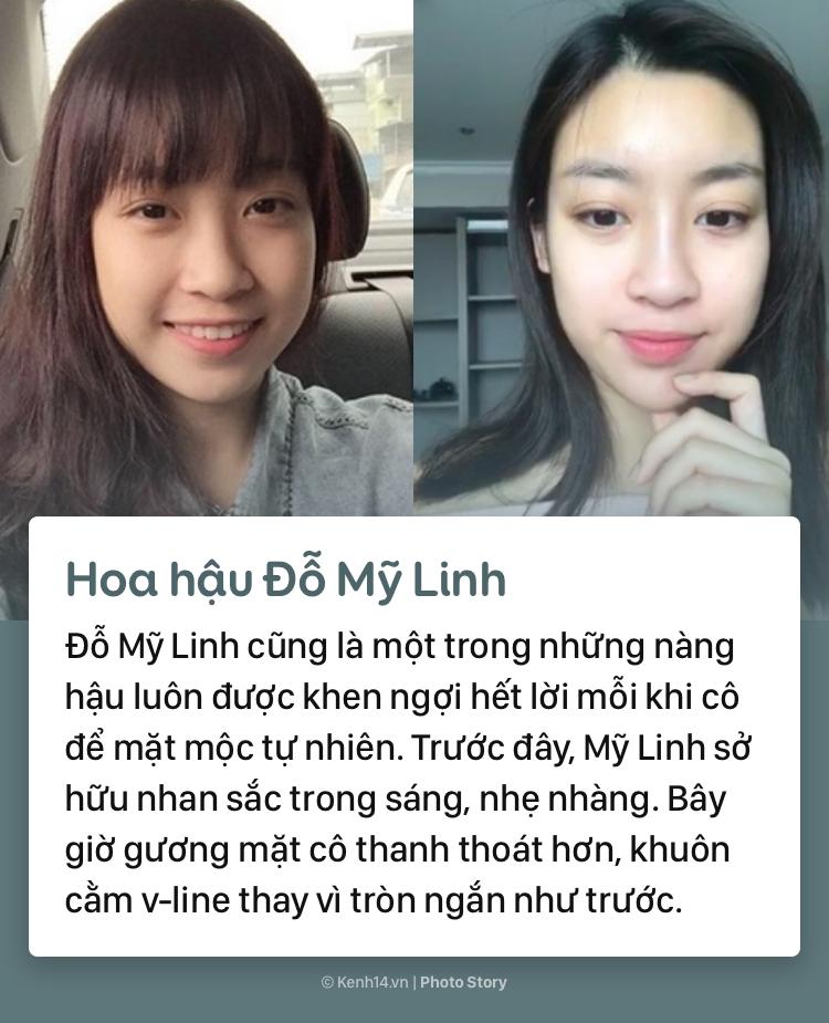 Mặt mộc khác biệt trước đây - bây giờ của các nàng hậu đình đám Việt Nam - Ảnh 7.