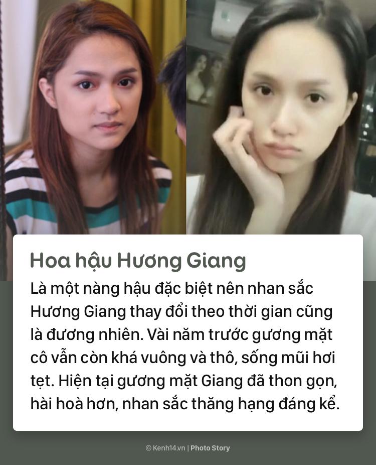 Mặt mộc khác biệt trước đây - bây giờ của các nàng hậu đình đám Việt Nam - Ảnh 9.