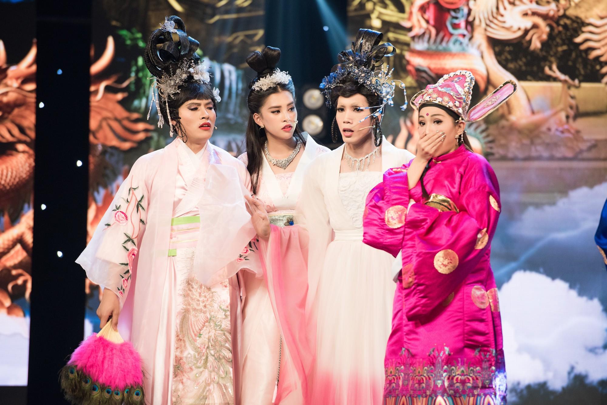 Hoa hậu Tiểu Vy lần đầu thử khả năng diễn xuất, đóng Táo 2019 cùng Mr Đàm, Cẩm Ly - Ảnh 5.