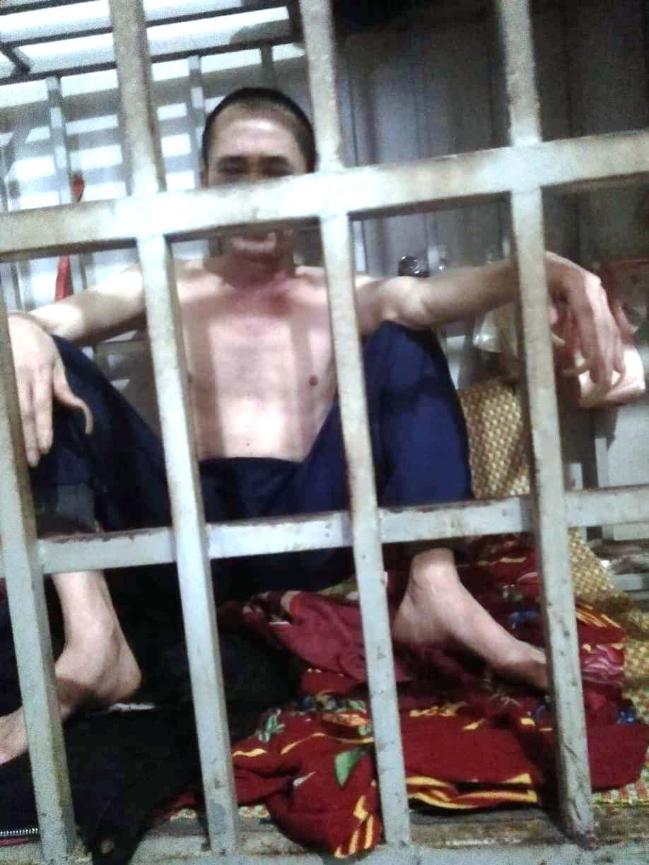 """Cận cảnh chiếc """"chuồng cọp"""" được bà vợ ở Thanh Hóa dùng để nhốt chồng suốt 3 năm - Ảnh 2."""