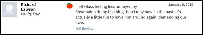 """""""Glass"""" bị giới phê bình chê tơi tả, sự nghiệp của M. Night Shyamalan quả là lên xuống như biểu đồ hình sin - Ảnh 9."""