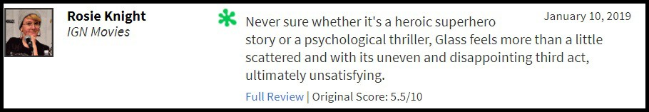 """""""Glass"""" bị giới phê bình chê tơi tả, sự nghiệp của M. Night Shyamalan quả là lên xuống như biểu đồ hình sin - Ảnh 3."""