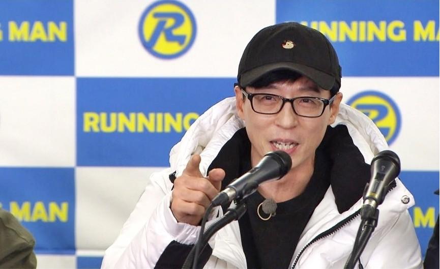 Lee Kwang Soo lộ diện trong họp báo sau tin hẹn hò, Yoo Jae Suk khẳng định cặp đôi có thể đối đầu với Song Song? - Ảnh 3.