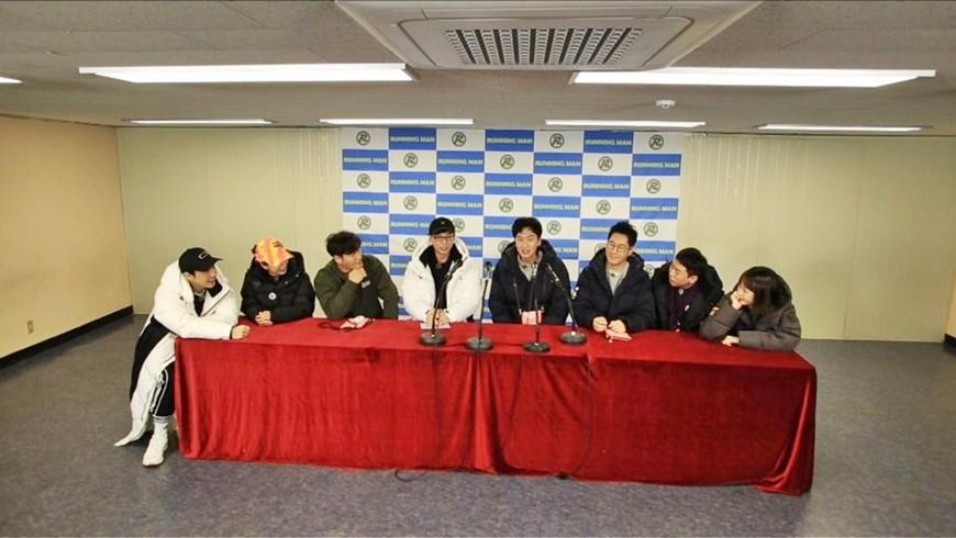 Lee Kwang Soo lộ diện trong họp báo sau tin hẹn hò, Yoo Jae Suk khẳng định cặp đôi có thể đối đầu với Song Song? - Ảnh 2.