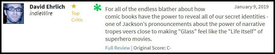 """""""Glass"""" bị giới phê bình chê tơi tả, sự nghiệp của M. Night Shyamalan quả là lên xuống như biểu đồ hình sin - Ảnh 5."""