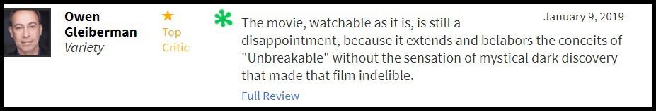 """""""Glass"""" bị giới phê bình chê tơi tả, sự nghiệp của M. Night Shyamalan quả là lên xuống như biểu đồ hình sin - Ảnh 7."""