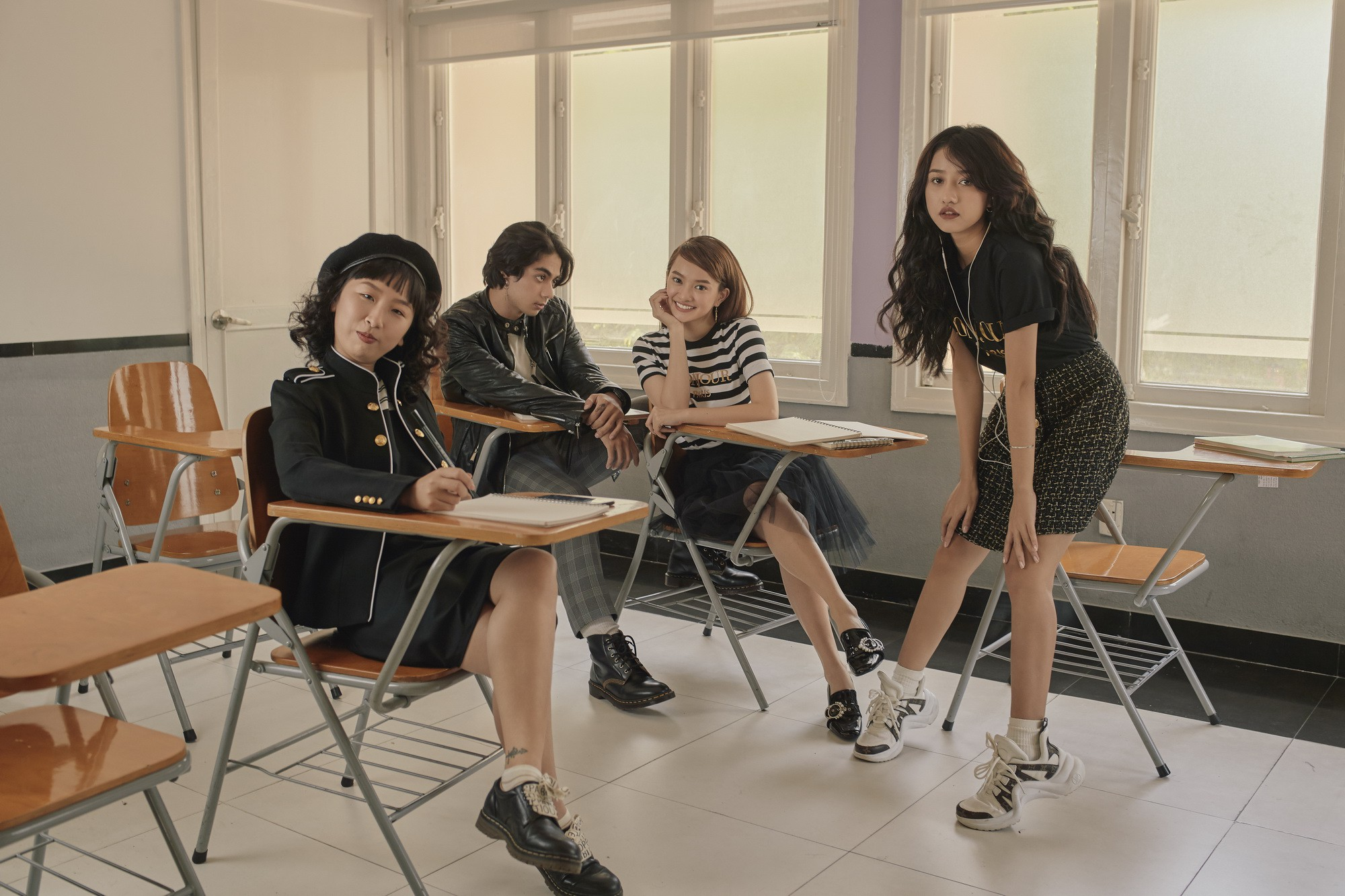 Hồn Papa, Da Con Gái còn chưa nguội, Kaity Nguyễn đã cùng nhóm bạn thân nổi loạn với web drama mới - Ảnh 8.