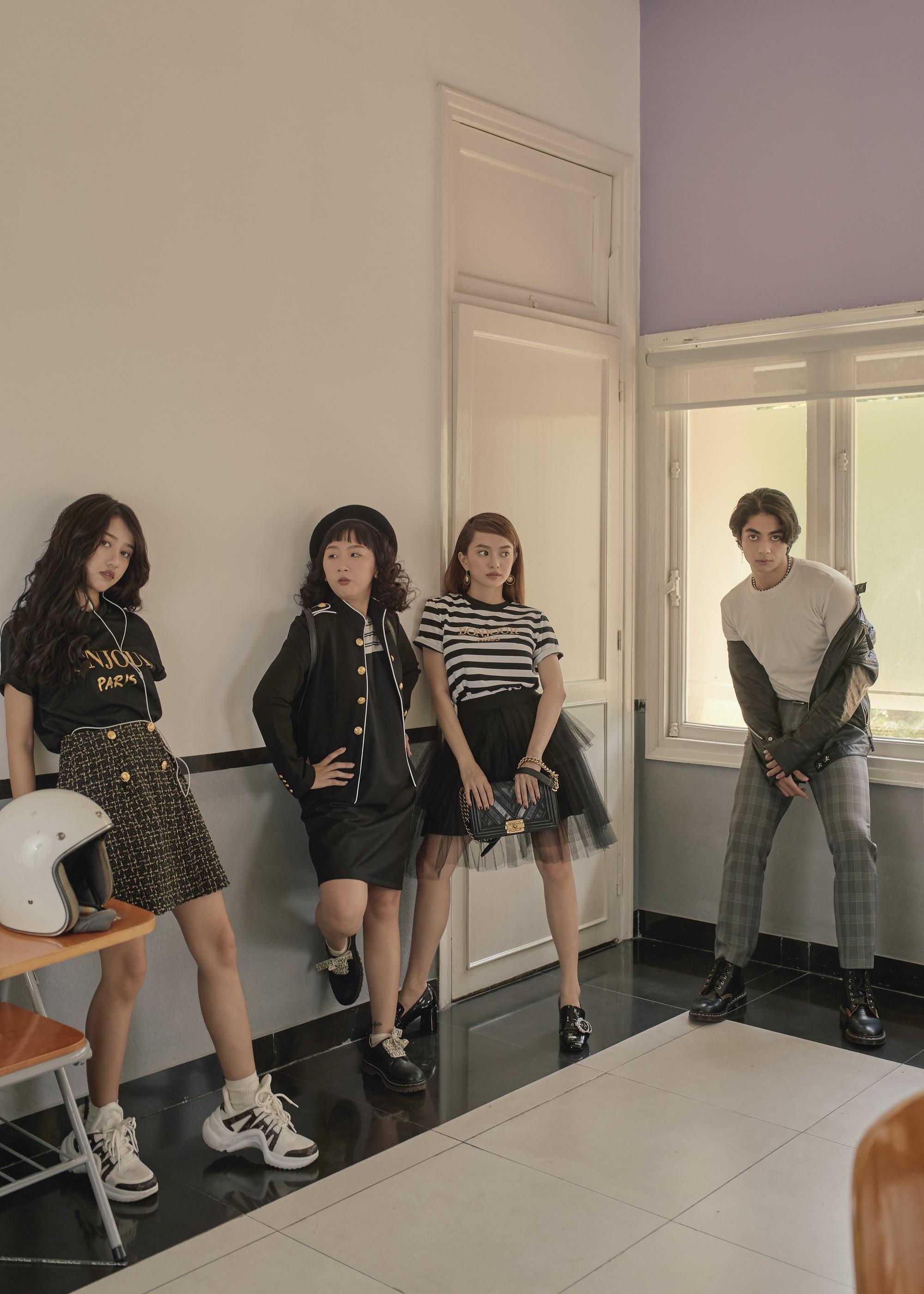Hồn Papa, Da Con Gái còn chưa nguội, Kaity Nguyễn đã cùng nhóm bạn thân nổi loạn với web drama mới - Ảnh 10.