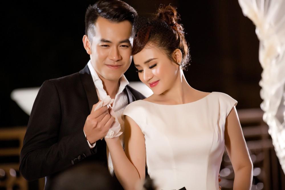 Vy Oanh mời Hồ Trung Dũng song ca bài hát viết riêng tặng ông xã, hé lộ những thước phim cưới ngọt ngào - Ảnh 2.