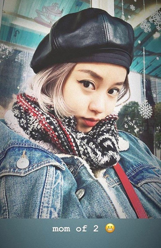 Đúng là cựu hot girl đời đầu, vác bụng bầu xuống phố mà Mi Vân vẫn xinh đẹp nức lòng như thế này - Ảnh 2.