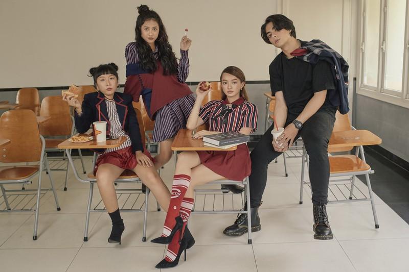 Hồn Papa, Da Con Gái còn chưa nguội, Kaity Nguyễn đã cùng nhóm bạn thân nổi loạn với web drama mới - Ảnh 1.