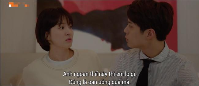Lần đầu ngủ chung giường với phi công trẻ, Song Hye Kyo đã biểu cảm thế này - Ảnh 1.