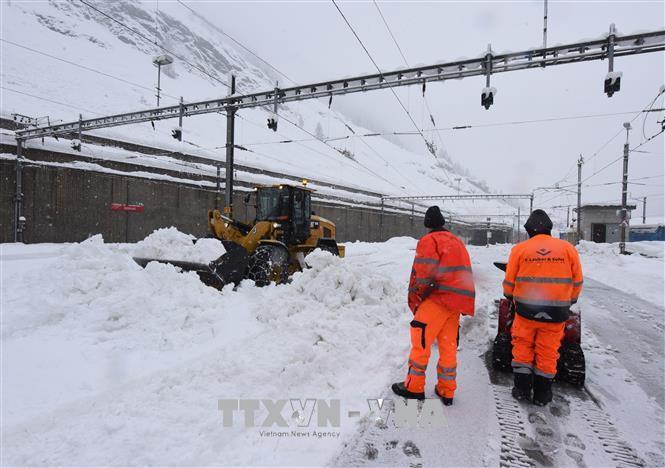 Bão tuyết hoành hành khu vực Balkan - Ảnh 1.