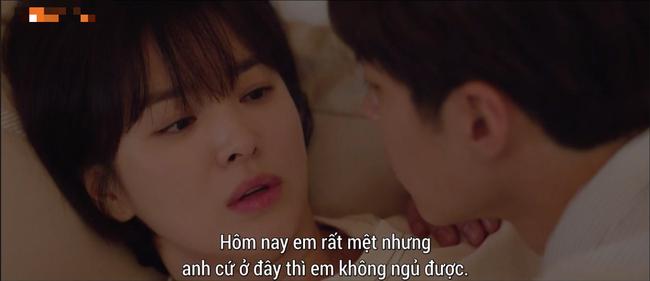 Lần đầu ngủ chung giường với phi công trẻ, Song Hye Kyo đã biểu cảm thế này - Ảnh 5.
