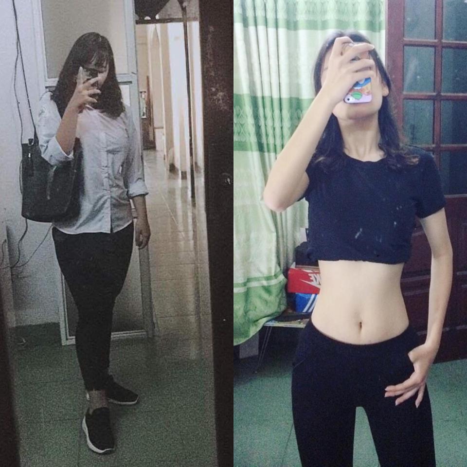 Giảm 30kg trong vòng 6 tháng, nữ sinh lột xác với vòng eo 56cm đáng ngưỡng mộ - Ảnh 2.