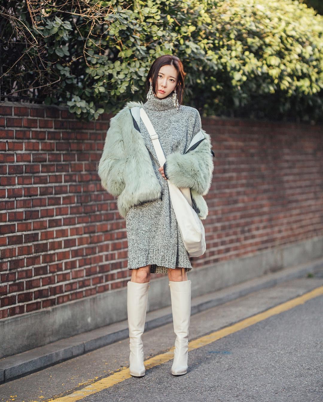 Mê phong cách đơn giản, bụi bặm hay chanh xả, bạn cũng sẽ bỏ túi được cả rổ gợi ý từ street style tuần qua của giới trẻ Hàn - Ảnh 10.