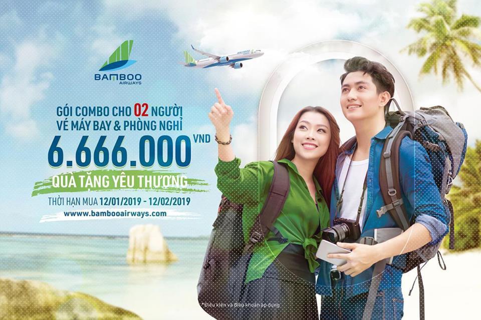 Chuyến bay đầu tiên của Bamboo Airways cất cánh từ 16/1, giá vé cơ bản chỉ từ 149.000 đồng - Ảnh 1.
