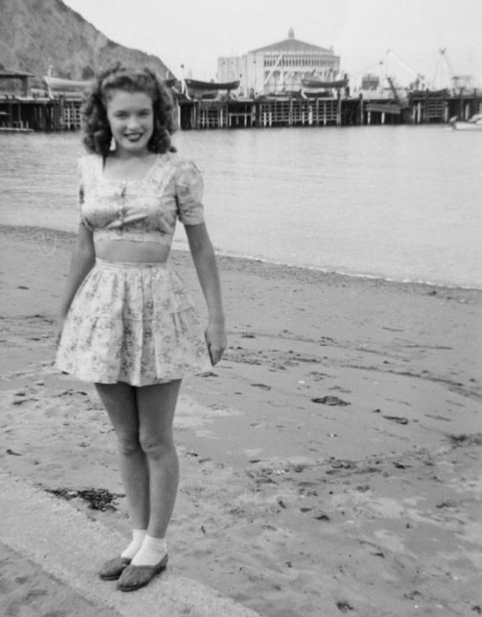 Hé lộ loạt ảnh hiếm thời chưa nổi tiếng của quả bom sex Marilyn Monroe - Ảnh 11.
